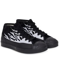 Converse X A$ap Nast Jack Purcell Chukka Mid-top Trainers - Black