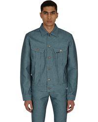 Kapital Century Denim No.3 Westerner Long Jacket Multi Xs - Blue