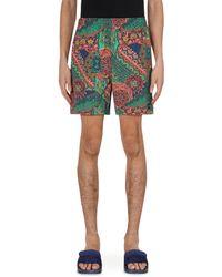 Noah Crazy Paisley Swimshorts - Multicolour