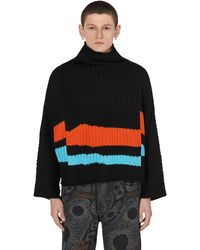 Eckhaus Latta Horizon Sweater - Black