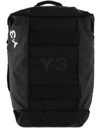 Y-3 Hybrid Duffle Bag - Black
