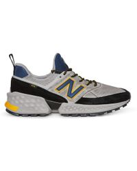 New Balance - Ms574vd Trainers Grey/navy - Lyst