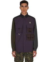 Nike Dri-fit Devastation Trail Shirt Dk Smoke Grey/black S