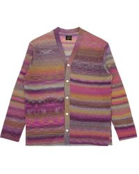 Needles V-neck Cardigan Knitwear - Purple