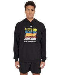 adidas Originals Sports Hooded Sweatshirt - Black