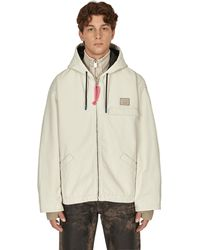Acne Studios Padded Cotton Jacket - Natural