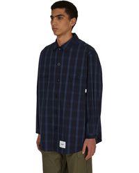 WTAPS Wcpo Shirt - Blue