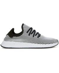 Adidas originali deerupt runner scarpe in nero cq2626 in nero