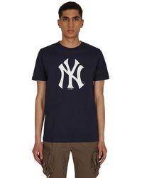 AWAKE NY New Era X Mlb Subway Series New York Yankees T-shirt Navy S - Blue