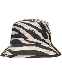 Barbour Noah Waxed Bucket Hat - Multicolour