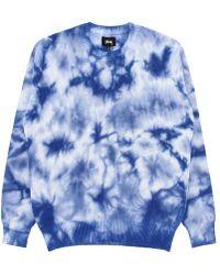 Stussy - Bleached Dye Sweater - Lyst