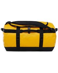 The North Face - Base Camp Duffle S Bag Summit Gold/black - Lyst
