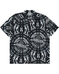 SSS World Corp Motorhead Tie Dye Hawaiian - Black