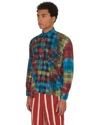 Needles - 7 Cuts Tie Dye Flannel Shirt - Lyst