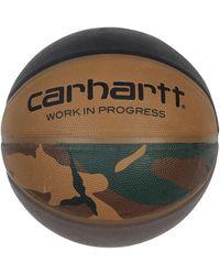 Carhartt WIP Spalding Valiant 4 Basketball Camol/black/airforceg/leather U