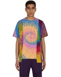 Needles 5 Cuts Tie Dye T-shirt Assorted L - Multicolour
