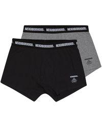 Neighborhood Classic 2 Pack Underwear - Black