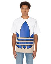 adidas Originals Big Trefoil Colorblock T-shirt - White
