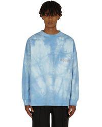 Martine Rose Warung Longsleeve T-shirt Light Blue Martine M