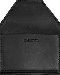 Jil Sander Zip Pocket Belt Bag - Black