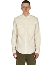Helmut Lang Strap Shirt Powdered Ecru M - Natural