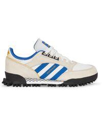 adidas Originals Boston Super X Marathon Sneakers Cream White/blue 40