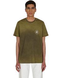 Helmut Lang Sprayed T-shirt Birch S - Green