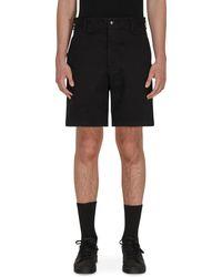 Noah Military Shorts - Black