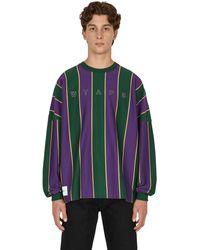 WTAPS Peace Longsleeve T-shirt - Purple