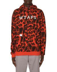 WTAPS Design Team Hooded Sweatshirt Orange M