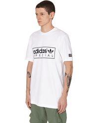 adidas Originals Spzl New Order T-shirt - White