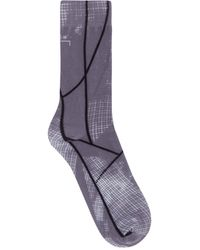 A_COLD_WALL* Shard Graphic Socks - Gray