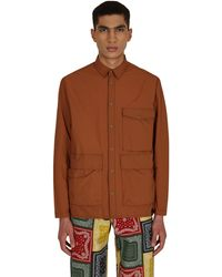 Gramicci Packable Utility Shirt - Brown