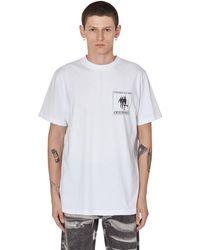 SLAM JAM Cccp Fedeli Alla Linea Ortodossia T-shirt - White