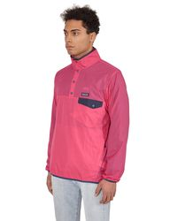 Patagonia Houdini Snap-t Pullover Jacket - Pink