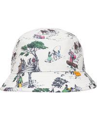 Converse Union La Bucket Hat - White