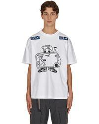 Cav Empt Phone-guy T-shirt - White