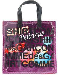 Comme des Garçons Shopping Tote Bag - Multicolour