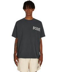Bode Pearly T-shirt Grey S