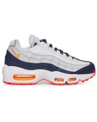 bfb2cf2e759ce Nike - Wmns Air Max 95 Sneakers Midnight Navy laser Orange - Lyst