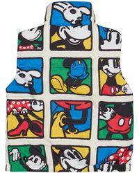 Levi's Disney Mickey & Friends Manga Print Down Vest - Multicolour