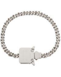 1017 ALYX 9SM Cubix Chain Necklace - Metallic