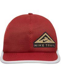 Nike Dri-fit Pro Trail Running Cap - Red