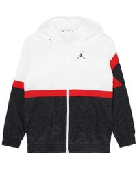 5e6ed45e0c563e Nike - Diamond Cement Jacket White black gym Red - Lyst