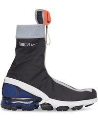 Nike Air Vapormax Flyknit Gaiter Ispa Trainers - Black