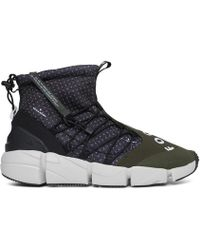 Nike - Air Footscape Mid Utility Primeknit Trainers - Lyst