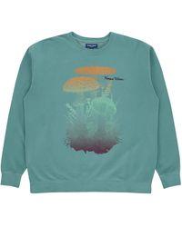 Know Wave C12h17n2o4p Crewneck Sweatshirt - Green
