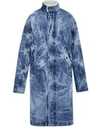 Fear Of God - Denim Selvedge Alpaca Deckcoat - Lyst