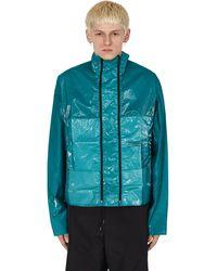 OAMC Exit Garment Dye Overshirt Green S
