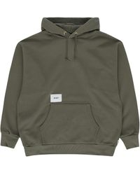 WTAPS Academy Hooded Sweatshirt - Green